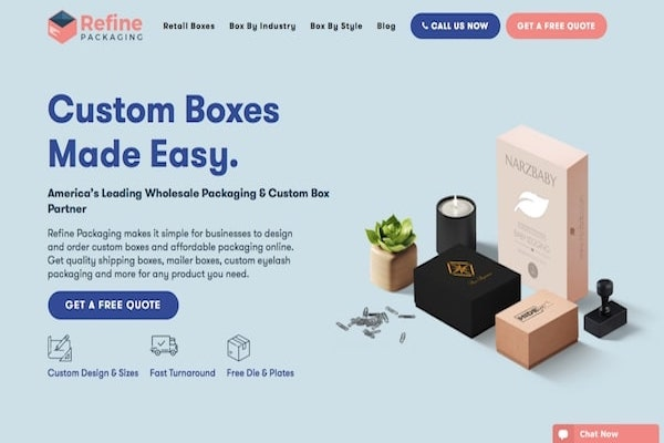 Refine Packaging