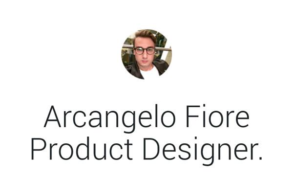 Arcangelo Fiore - Ux/Ui Designer