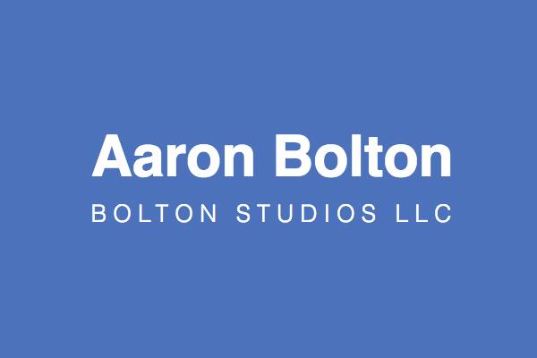 Aaron Bolton