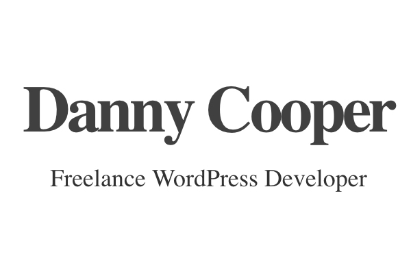 Danny Cooper