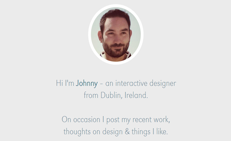 Jonathan Belton - Interactive Designer