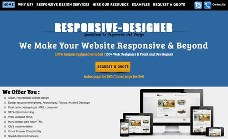 Responsive Designer