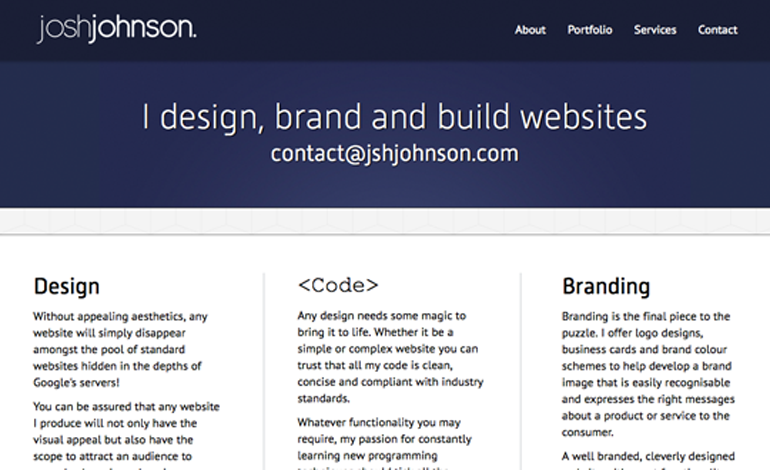 Josh Johnson Web Design