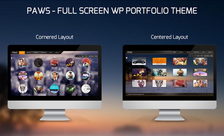Paws - WP Responsive Portfolio Theme