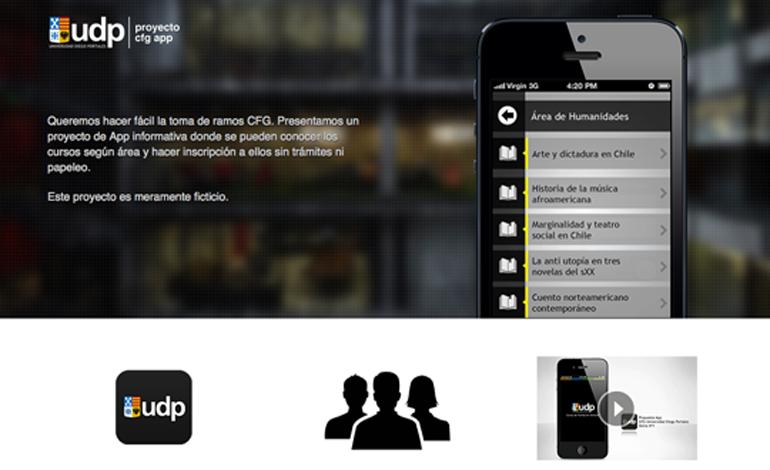 UDP CFG APP