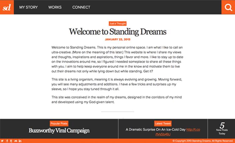 Standing Dreams