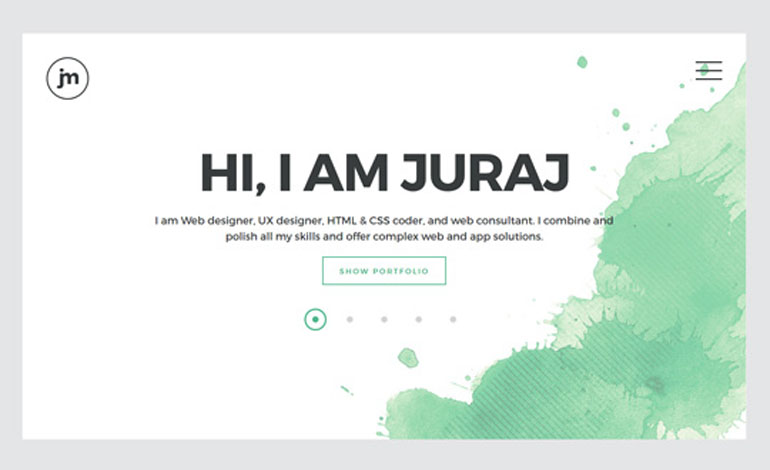 Web designer Juraj Molnar