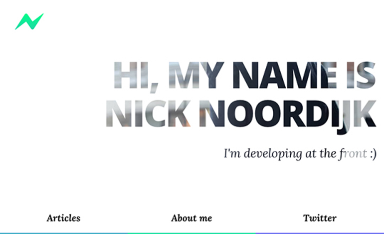 Nick Noordijk Frondend developer