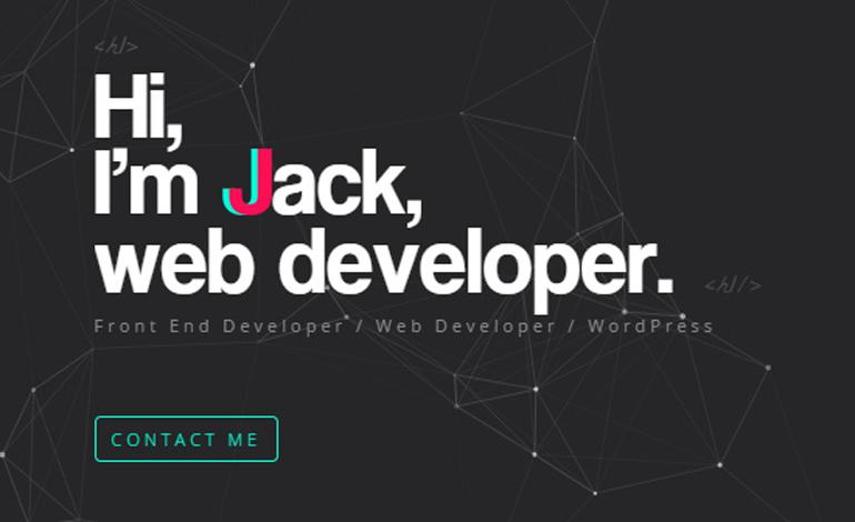 JJ Web Developer Wordpress Developer Portfolio- CSSLight