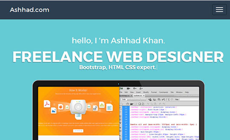 Freelance Website Designer from Karachi