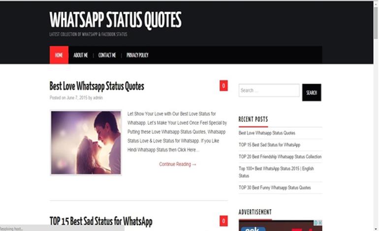 Whatsapp Status Csslight