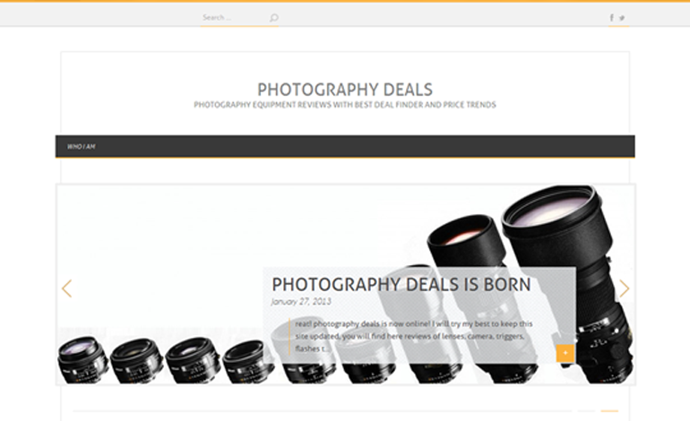 Photography deals