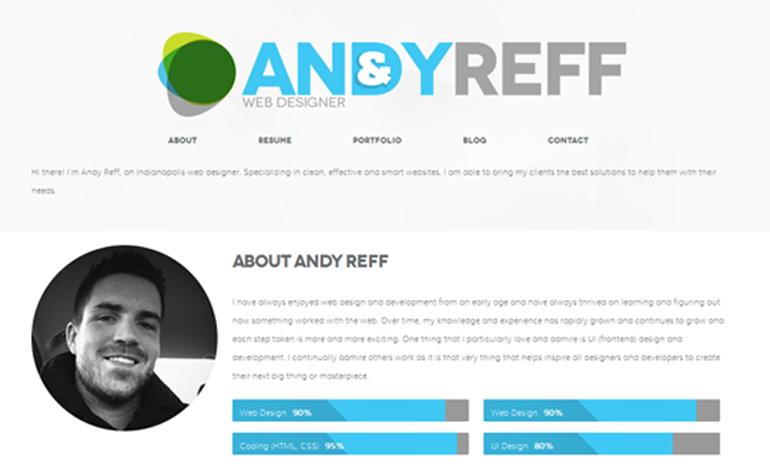 Andy Reff // Web Designer