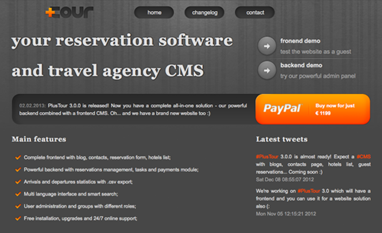 PlusTour - Reservation Software