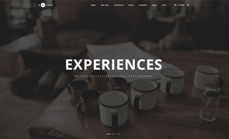 HCode MultiPurpose One and Multi Page Template