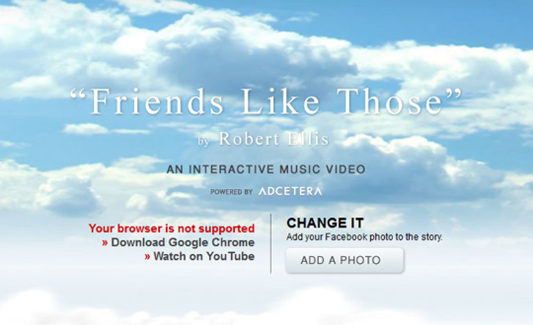 Friends Like Those Interactive Music Video