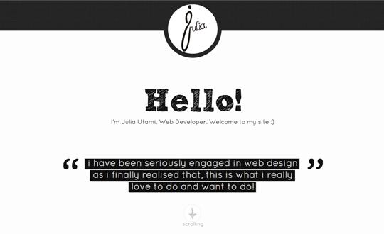 Julia's Portfolio