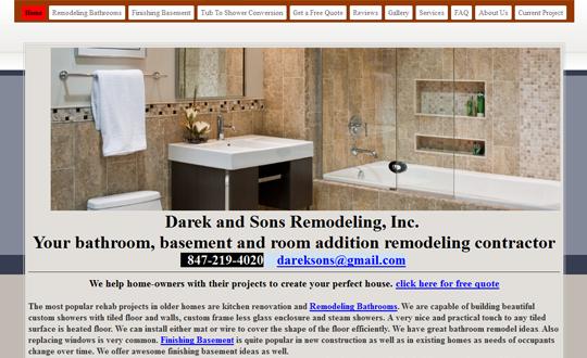 Darek and Sons Remodeling