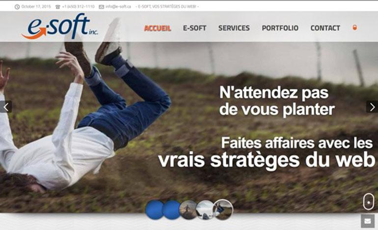 E SOFT inc Creation de sites Web et marketing numerique