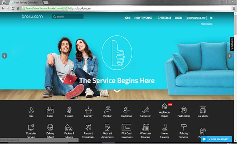 Bro4u Services Online in India