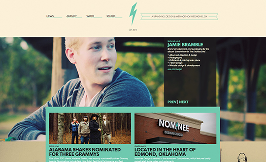 Nominee Design Studio Site