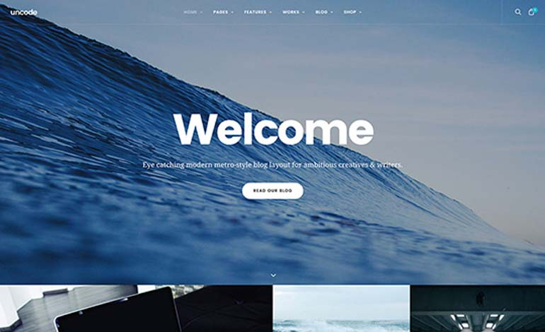 Uncode Creative Multiuse WordPress Theme