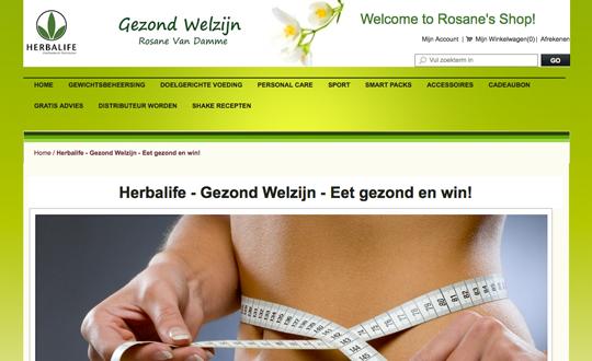 Herbalife - Gezond Werlzijn