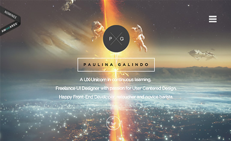 UI and UX Designer Paulina Galindo