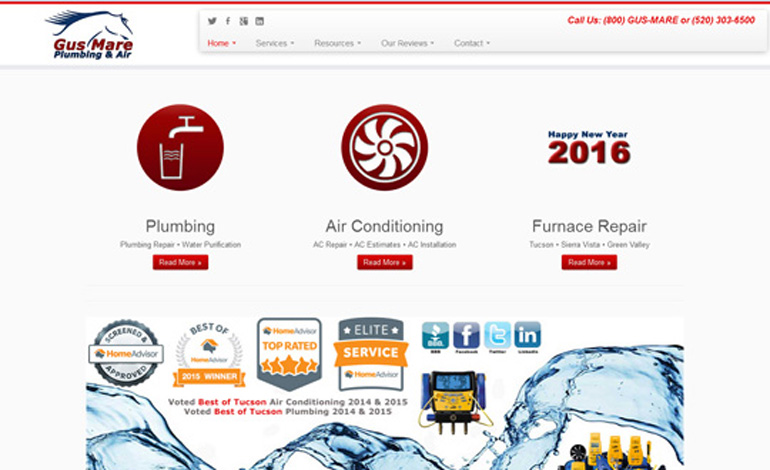Gus Mare Plumbing and Air