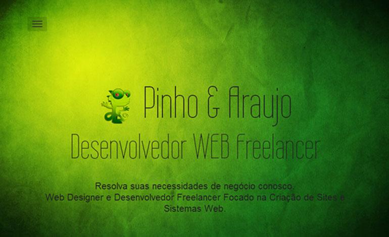 Pinho Araujo Desenvolvedor WEB Freelancer