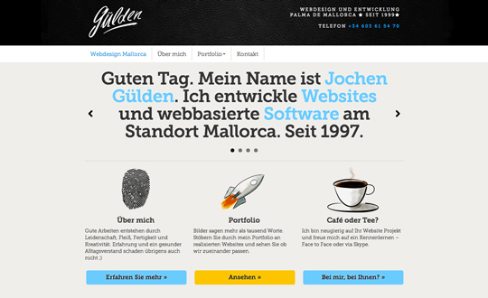 Gülden – Webdesign Mallorca