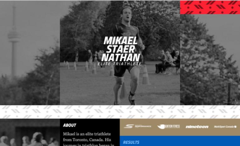 Mikael Staer Nathan Triathlon