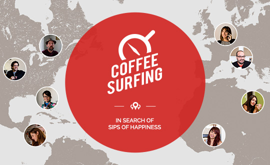 Coffee Surfing illy