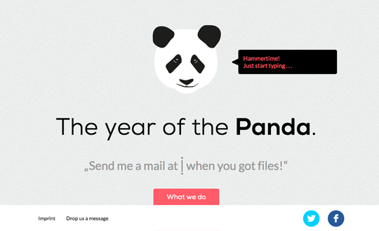 Panda Got FIles