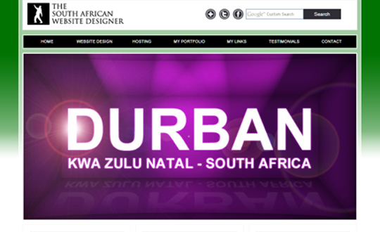 THE SOUTH AFRICAN WEBSITE DESIGNER