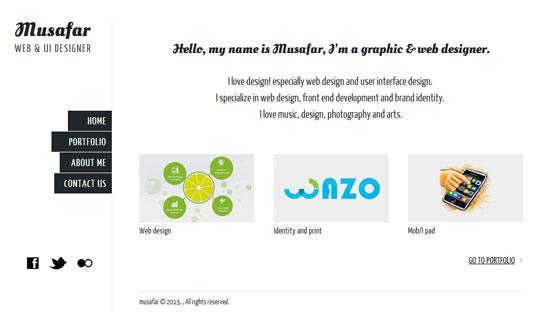Musafar web & UI Designer