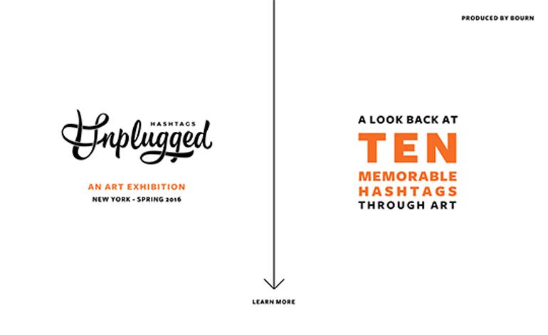 Hashtags Unplugged