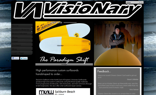 Visionary Surfboards