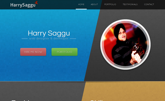 Harry Saggu Portfolio