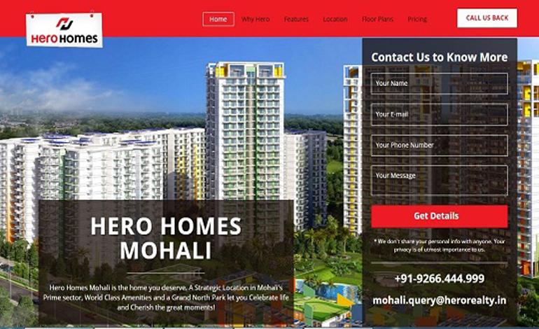 Hero Homes Mohali