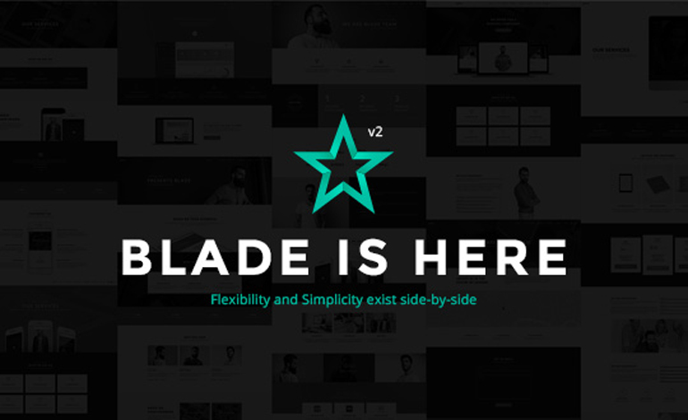 Blade High Quality WP Theme