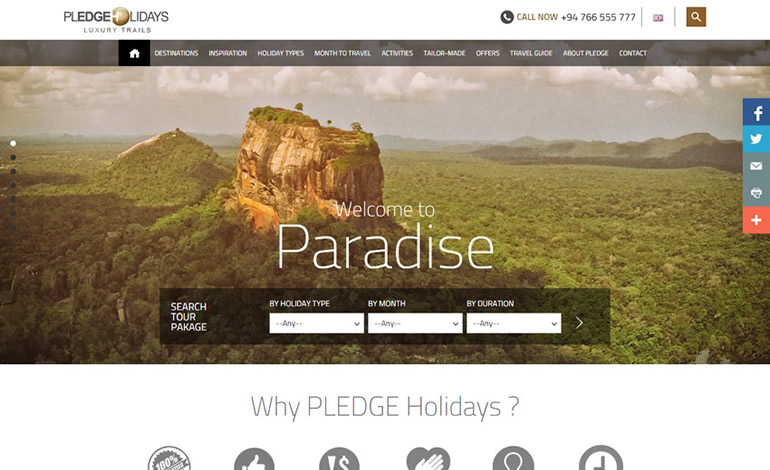 Pledge Holidays