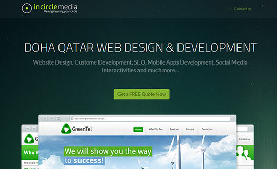 Qatar Web Design