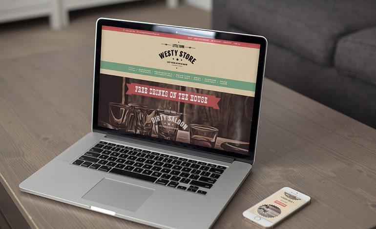Westy   Cowboy WordPress Theme