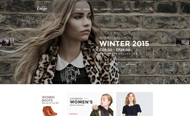 Emigo Fashion WooCommerce WordPress Theme
