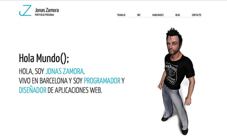 Jonas Zamora Portfolio