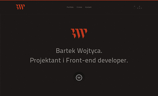 Bartek Wojtyca. Designer & Front end developer