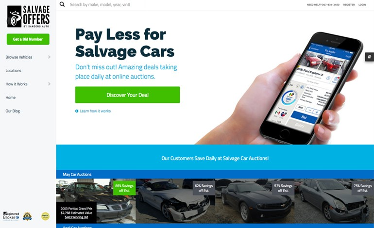 Salvage Offers Auto Auctions