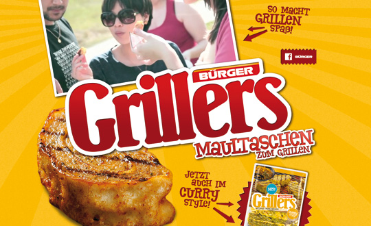 Grillers Maultaschen to grill