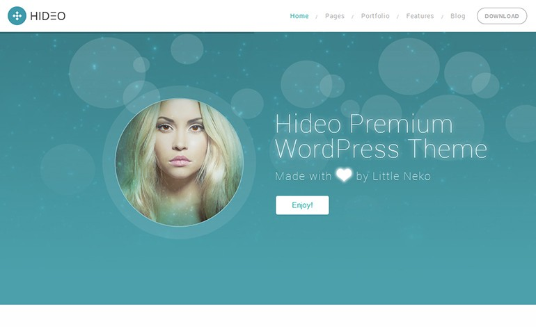Hideo Business WordPress theme